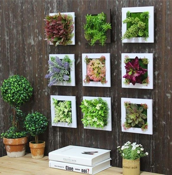 20 Gorgeous Succulent Wall Art To Display Houseplants | Home Design Intended For Succulent Wall Art (Image 1 of 25)