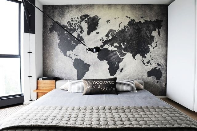 20 Great Wall Decor Ideas For Your Bedroom   Bedroom Design Ideas Within Wall Art For Men (Image 1 of 10)