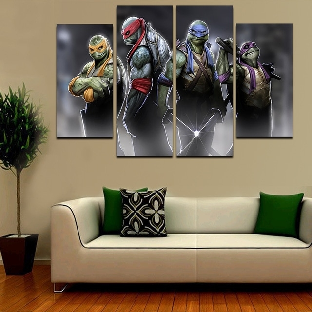 Featured Image of Ninja Turtle Wall Art