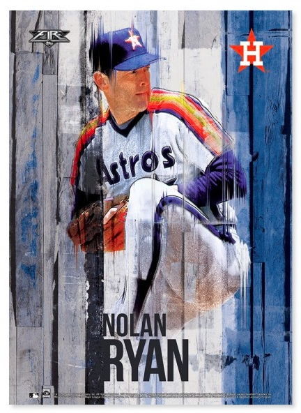 2016 Topps Fire Baseball Wall Art  (Image 1 of 25)