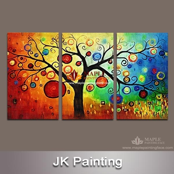 2018 Hot Sales Wall Art Painting Pictures Print On Canvas Modern Inside Wall Art Paintings (Image 7 of 25)
