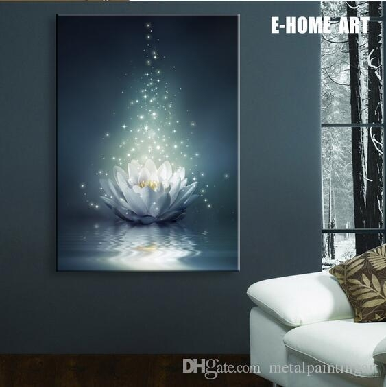 2018 Led Lights Wall Art Canvas Spray Painting Light Up Framed In Light Up Wall Art (View 1 of 25)