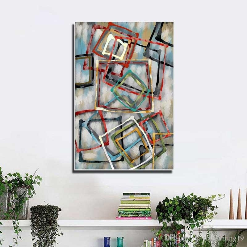 2018 Popular Home Decoration Wall Art Modern Fashion Canvas Art Regarding Popular Wall Art (View 19 of 20)
