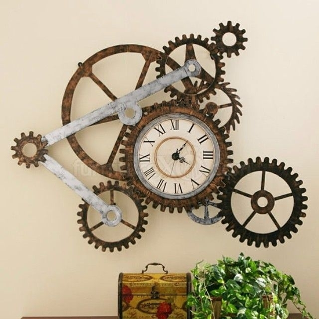 21 Cool Tips To Steampunk Your Home | Design Love | Pinterest Inside Steampunk Wall Art (View 4 of 25)