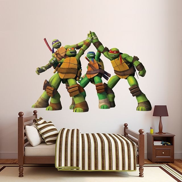 24 Best Of Teenage Mutant Ninja Turtles Wall Art | Mehrgallery Inside Ninja Turtle Wall Art (Image 2 of 25)