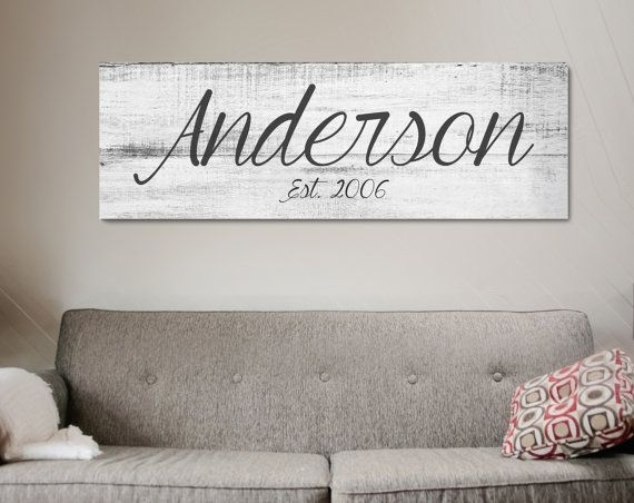 25+ Best Ideas About Name Wall Art On Pinterest | Cheap Playroom Throughout Family Name Wall Art (View 13 of 20)