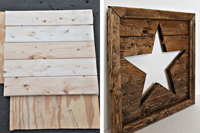 25 Best Wood Wall Decor Ideas | Shutterfly Inside Wood Wall Art Diy (Image 4 of 10)