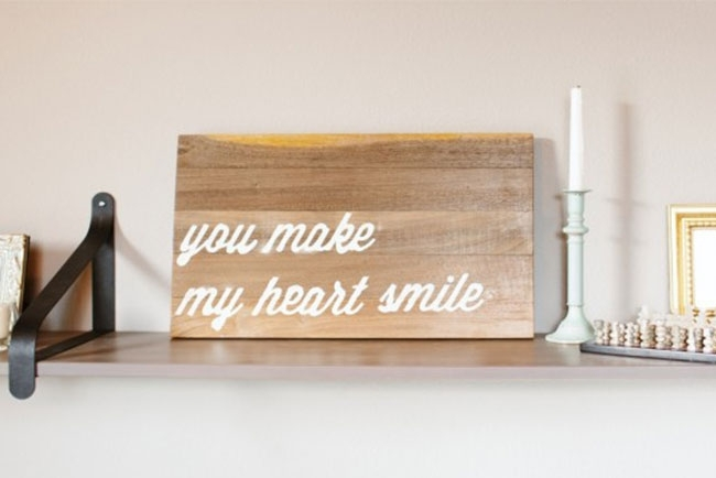25 Best Wood Wall Decor Ideas | Shutterfly With Diy Wood Wall Art (View 25 of 25)