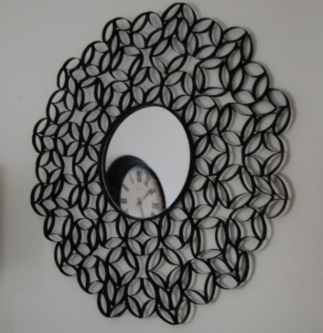 25 Creative Diy Toilet Paper Roll Wall Art Pertaining To Toilet Paper Roll Wall Art (View 2 of 25)