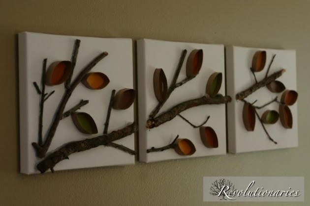 25 Creative Diy Toilet Paper Roll Wall Art With Regard To Toilet Paper Roll Wall Art (Image 4 of 25)