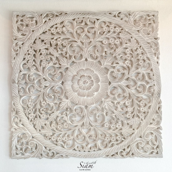 26 Wood Carved Wall Art, 20 Photos Wood Carved Wall Art Panels Wall inside Wood Carved Wall Art