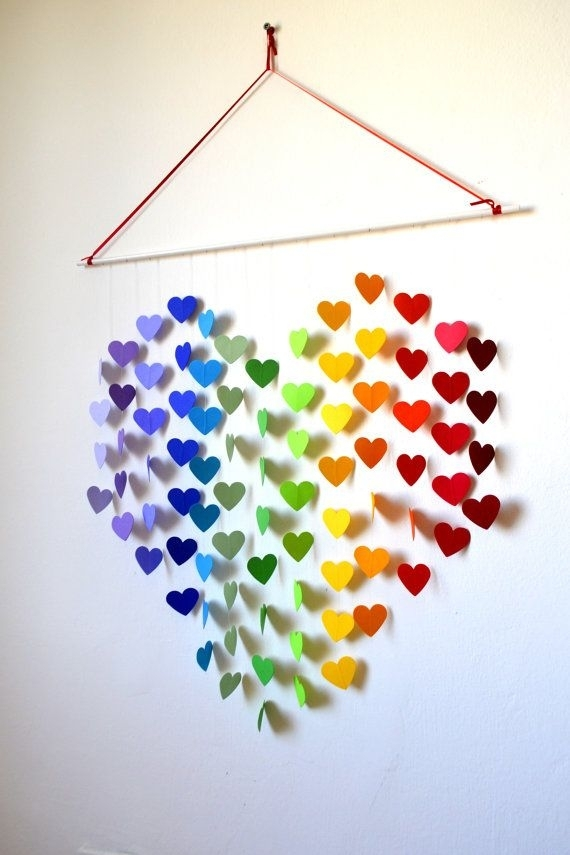 27 Amazing Diy 3D Wall Art Ideas In Paper Wall Art (Image 1 of 25)