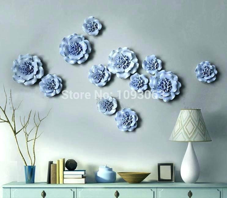 3 Dimensional Wall Art Wall Arts 3 D Wall Art Flower Flowers Ideas Regarding 3 Dimensional Wall Art (Photo 16 of 20)