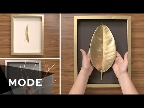 3 Diy Wall Art Ideas | Glam It Yourself ☆ Glam – Youtube Within Wall Art Diy (View 20 of 25)