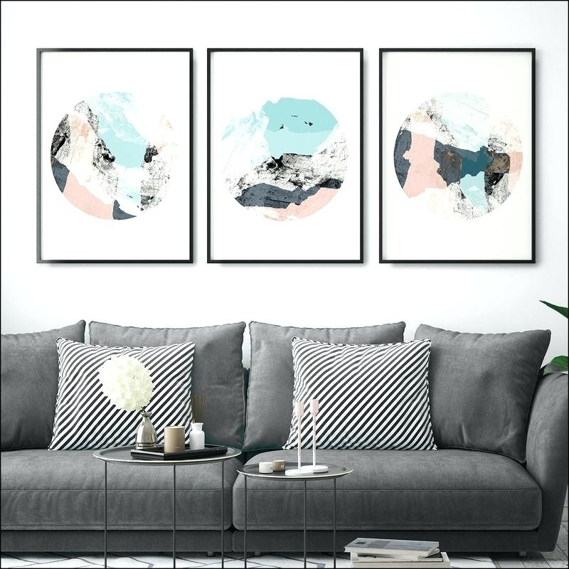 3 Picture Wall Art 3 Piece Large Canvas Wall Art Acrylic Knife 3 with regard to Large Framed Canvas Wall Art
