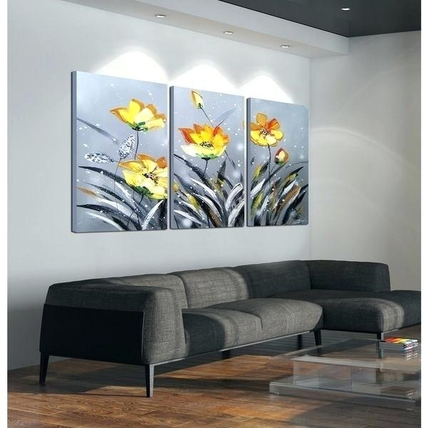 3 Piece Canvas Wall Art Full Size Of Paints3 Piece Wall Art Walmart Throughout Wall Art At Walmart (Image 1 of 20)