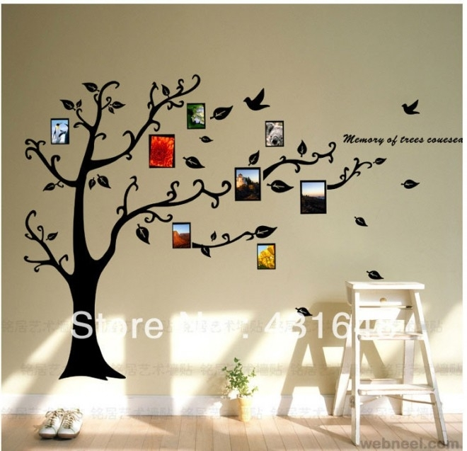 30 Beautiful Wall Art Ideas And Diy Wall Paintings For Your Inspiration With Regard To Art For Walls (Image 1 of 25)
