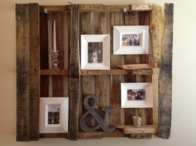 30 Fantastic Diy Pallets Wall Art Ideas Inside Pallet Wall Art (Image 3 of 10)