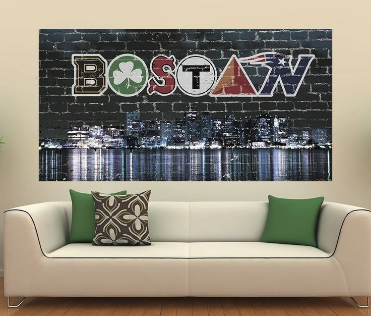 307 Best Boston Sports Images On Pinterest | Patriots Football For Boston Wall Art (Image 3 of 25)
