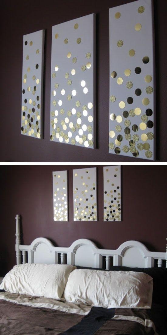 35 Creative Diy Wall Art Ideas For Your Home | Diy Home Decor For Gray Canvas Wall Art (Photo 9 of 25)