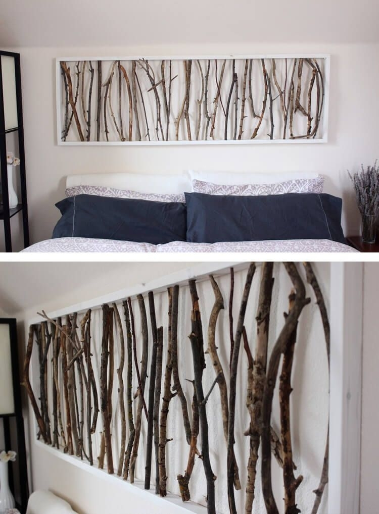 36 Easy Diy Wall Art Ideas To Make Your Home More Stylish | Diy Home Intended For Cheap Framed Wall Art (Photo 4 of 25)