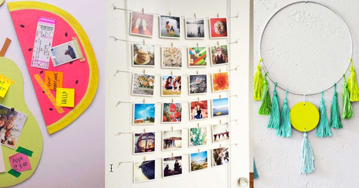 37 Awesome Diy Wall Art Ideas For Teen Girls In Wall Art Diy (Image 12 of 25)