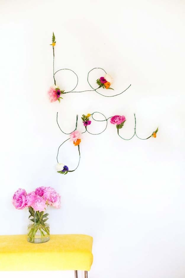 37 Awesome Diy Wall Art Ideas For Teen Girls Pertaining To Teen Wall Art (Photo 11 of 25)