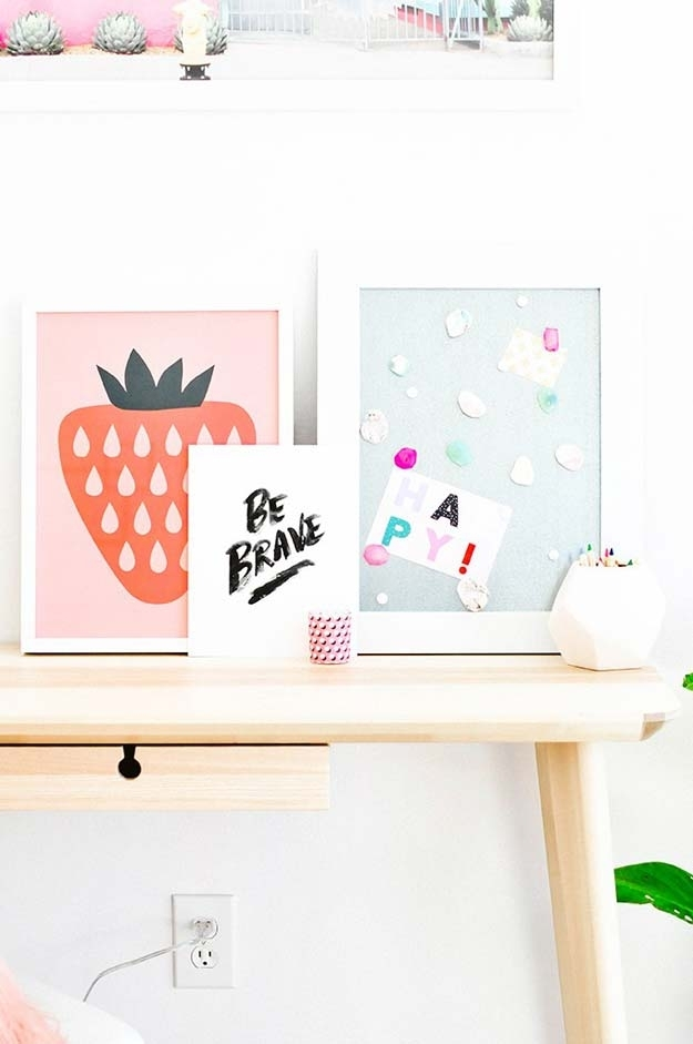 37 Awesome Diy Wall Art Ideas For Teen Girls with Teen Wall Art
