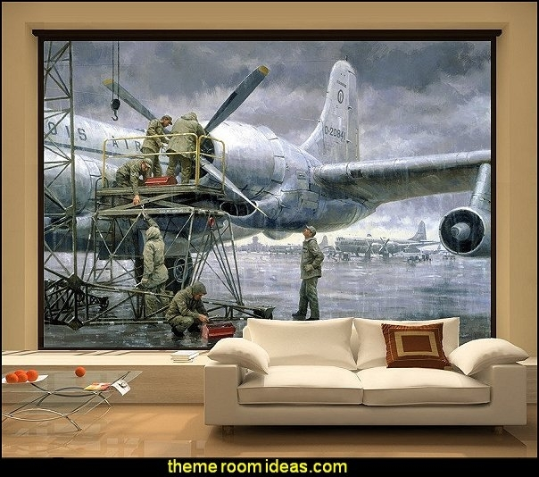 38 Best Airplane Room Images On Pinterest Aviation Decor With Home inside Aviation Wall Art