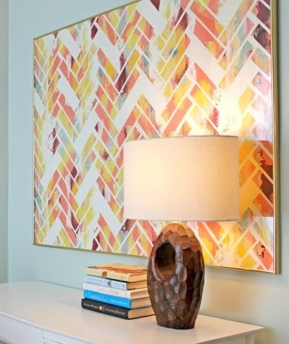 39 Amazing Diy Wall Art Projects – Giddy Upcycled Regarding Diy Wall Art Projects (Photo 17 of 25)
