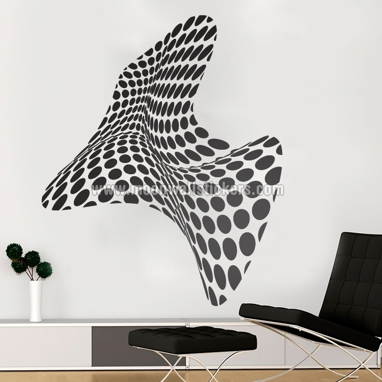 3D Wall Art – Moonwallstickers For Wall Art (View 6 of 10)