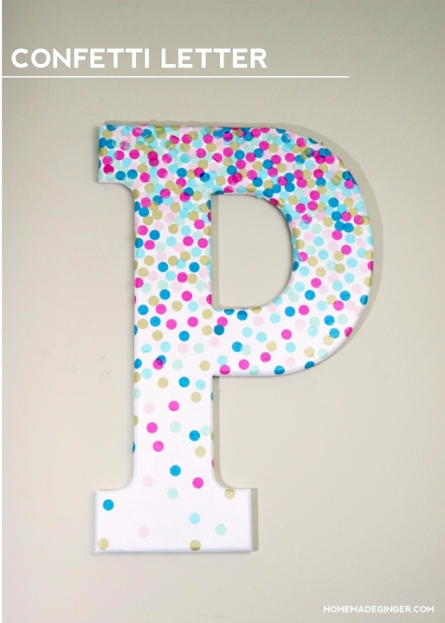 41 Amazing Diy Architectural Letters For Your Walls Throughout Letter Wall Art (Photo 23 of 25)