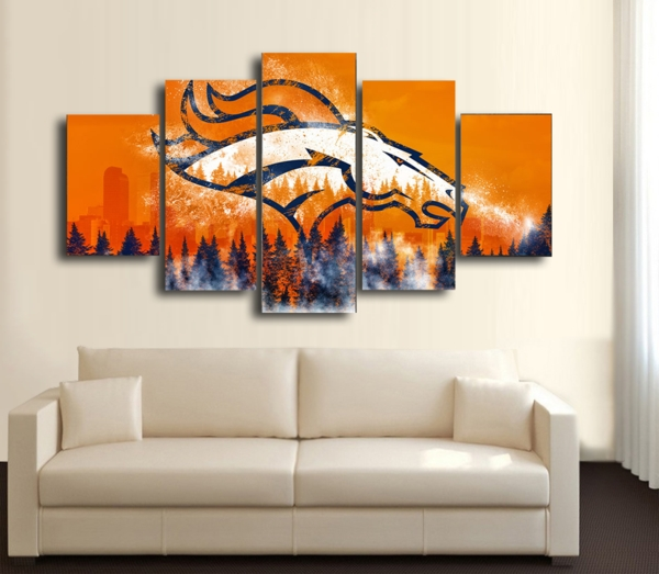 414 Best Broncos Baby Images On Pinterest Broncos Wall Art – Art Coo in Broncos Wall Art