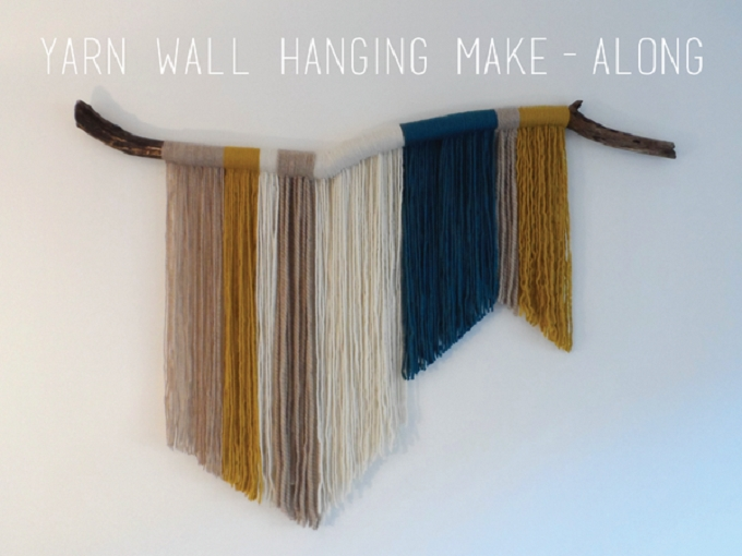 43 Inspiration Diy Woven Wall Hangings For Your Home • Cool Crafts within Yarn Wall Art
