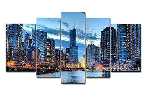 5 Panel Wall Art 5 Panel Wall Art Painting Pictures Prints On Canvas In 5 Panel Wall Art (Image 10 of 25)