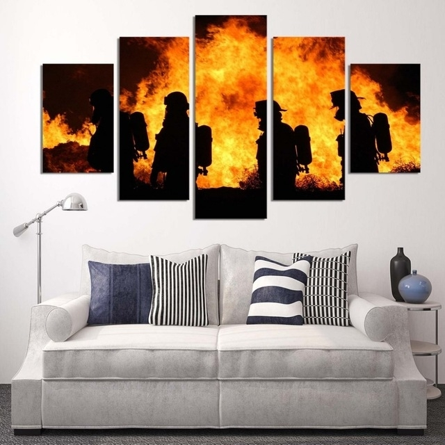 Featured Photo of Firefighter Wall Art