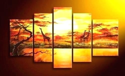 5 Piece Canvas Art Set Ideas Of Beach Wall Art Wall Art Ideas Inside Intended For 5 Piece Canvas Wall Art (View 23 of 25)