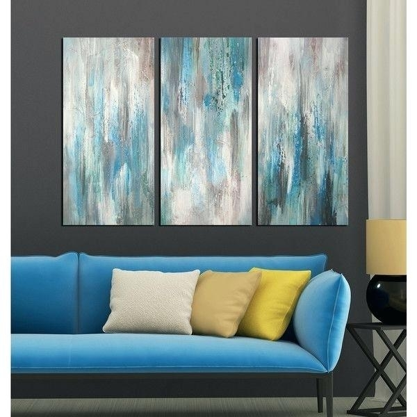 6 Piece Canvas Wall Art Best 3 Piece Wall Art Ideas On Brilliant Throughout Oversized Teal Canvas Wall Art (Photo 17 of 25)