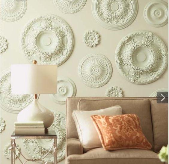 652 Best Victorian Dream House Ideas Images On Pinterest Medallion Regarding Medallion Wall Art (Image 1 of 25)