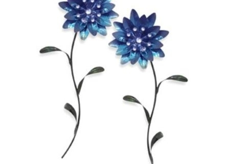 7 Metal Flowers Wall Art, Wire Flower Wall Plaque, $11000 Crafty Intended For Metal Flowers Wall Art (Image 2 of 20)