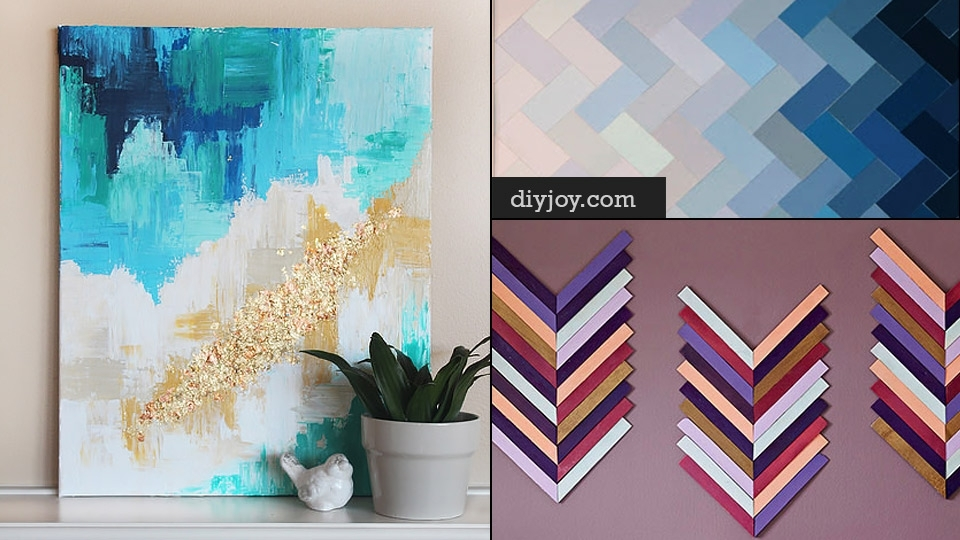76 Brilliant Diy Wall Art Ideas For Your Blank Walls inside Wall Art Diy