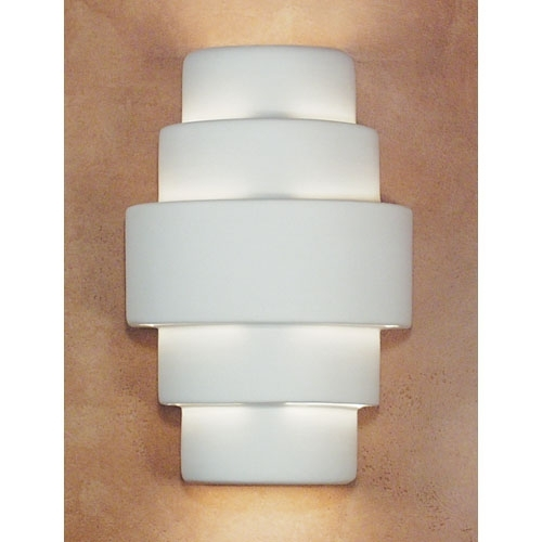 A 19 Lighting San Marcos Flush Wall Sconce 1401 | Bellacor With Regard To Art Deco Wall Sconces (Image 1 of 25)