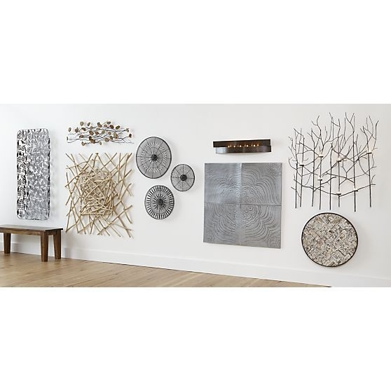 About Us | Decor | Pinterest | Metal Walls, Crates And Barrels Intended For Crate And Barrel Wall Art (Image 1 of 25)