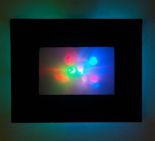 Abstract Led Wall Art Casts A Colorful Glow – Technabob Within Led Wall Art (View 9 of 20)