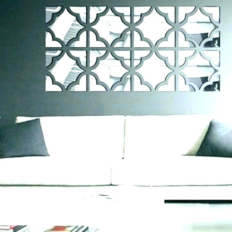 Abstract Mirror Uttermost Oswin Abstract Mirrored Wall Art Inside Mirrored Wall Art (View 11 of 20)