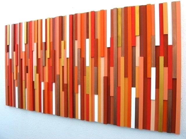 Abstract Wall Art Art Abstract Acrylic Paintings On Canvas Modern With Orange Wall Art (Image 3 of 25)