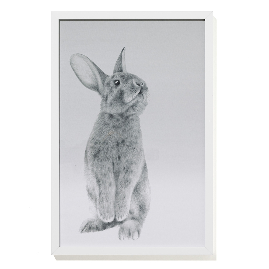 Adairs Kids – Standing Bunny Wall Art – Home & Gifts Wall Art Inside Bunny Wall Art (Image 2 of 20)