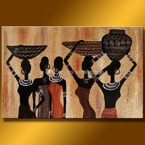 African Wall Art Perfect Decor Designs Awesome – Mycraftingbox Intended For African Wall Art (Image 4 of 10)