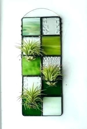 Air Plant Wall Art Air Plant Wall Art Stained Glass Wall Art For Stained Glass Wall Art (View 15 of 25)