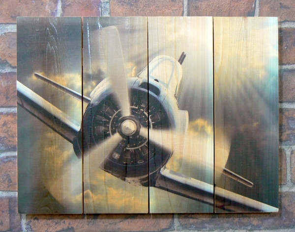 Airplane Wood Outdoor Wall Art | Aviation Art | Airplane Wall Art With Regard To Airplane Wall Art (Image 10 of 20)